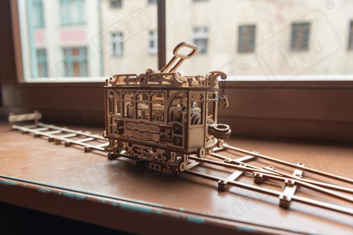Puzzle 3D Mecanic, Tramvai cu sine [4]