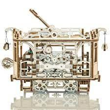 Puzzle 3D Mecanic, Tramvai cu sine [2]