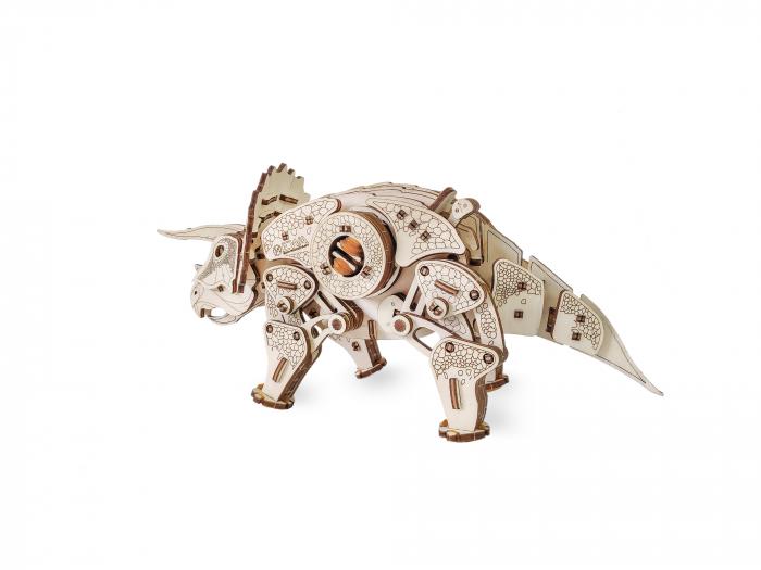 Puzzle 3D Mecanic, Triceraptor [3]