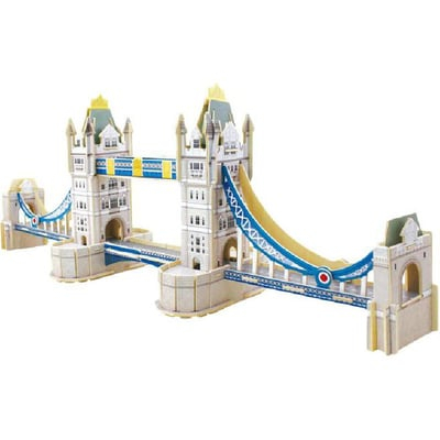 Puzzle 3D Podul Turnului, Lemn, 93 piese [0]