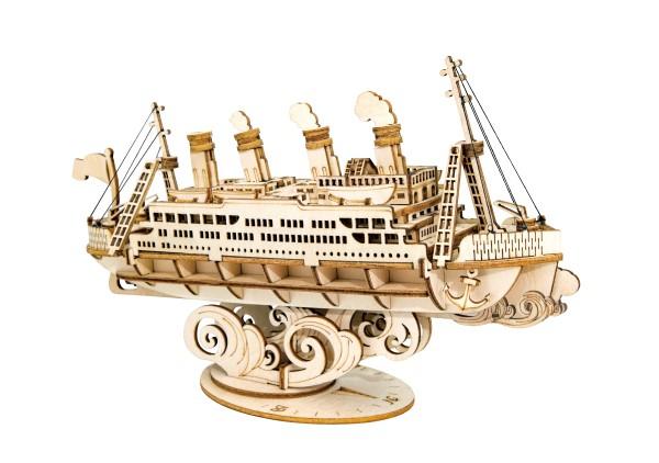 Puzzle 3D Cruise Ship, Lemn, 145 piese 1