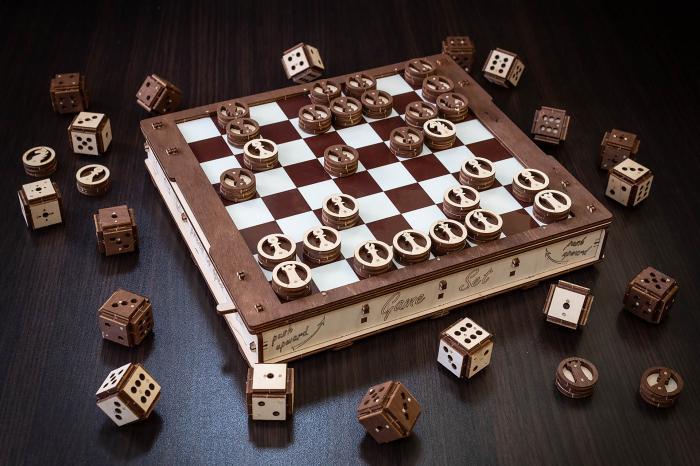 Puzzle 3D, Set de jocuri [3]