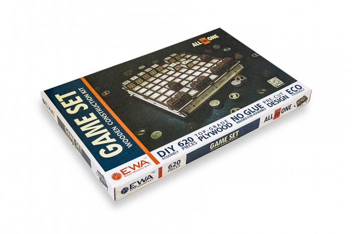 Puzzle 3D, Set de jocuri [9]