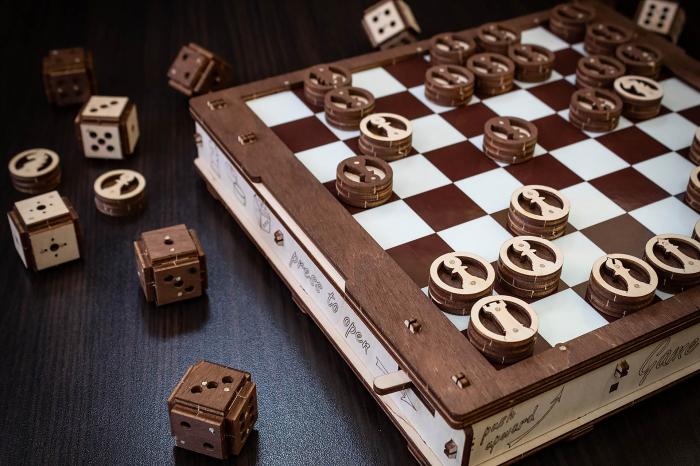 Puzzle 3D, Set de jocuri [5]