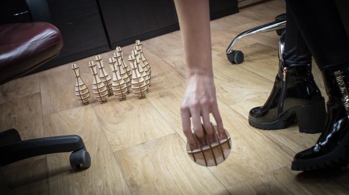 Puzzle 3D, Set mini bowling 2