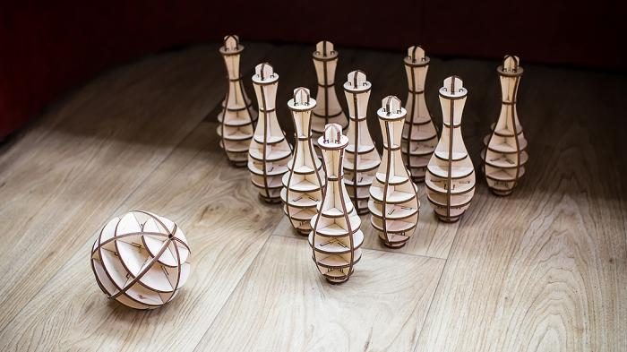 Puzzle 3D, Set mini bowling 1