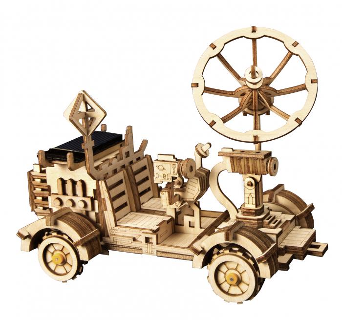Puzzle 3D spatial, cu baterie solara, Rambler Rover 0