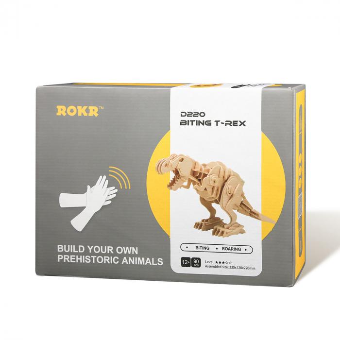 Puzzle 3D T-Rex mobil 3