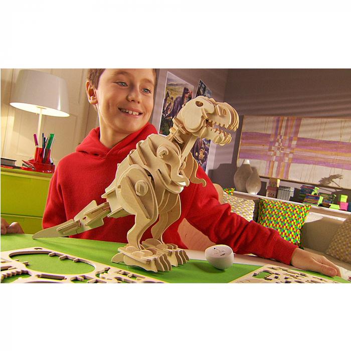 Puzzle 3D deplasabil  T-Rex 9