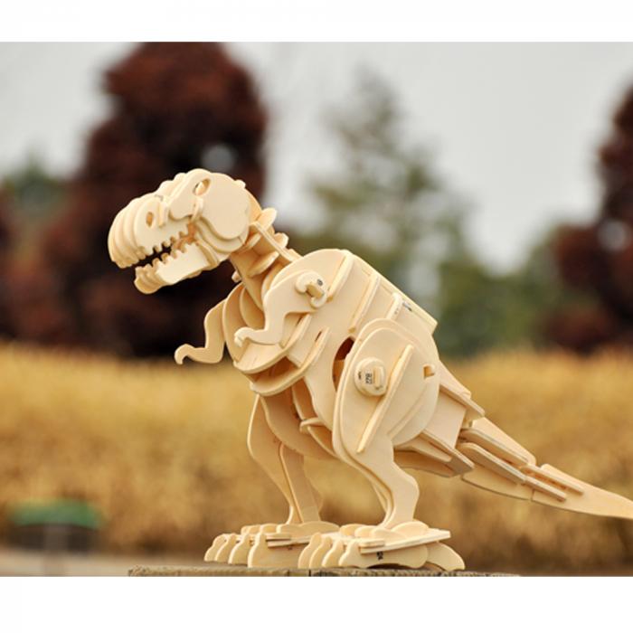 Puzzle 3D deplasabil  T-Rex 3