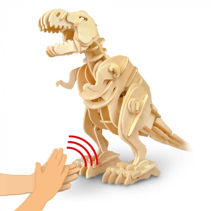 Puzzle 3D deplasabil  T-Rex 0
