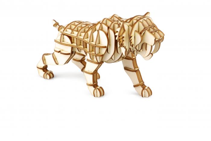 Puzzle 3D Tigru 0