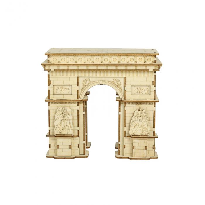 Puzzle 3D Arcul de Triumf, Lemn, 118 piese 0