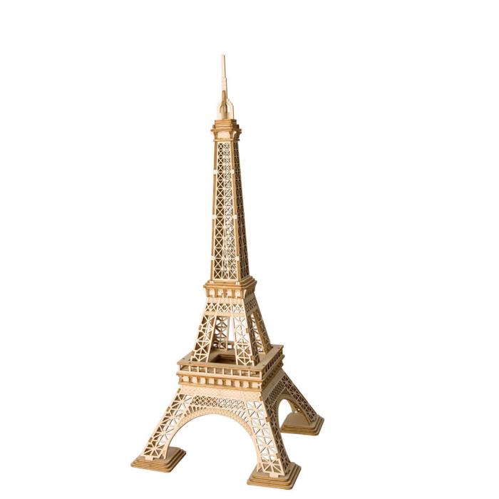 Puzzle 3D Turnul Eiffel, Lemn, 122 piese 0