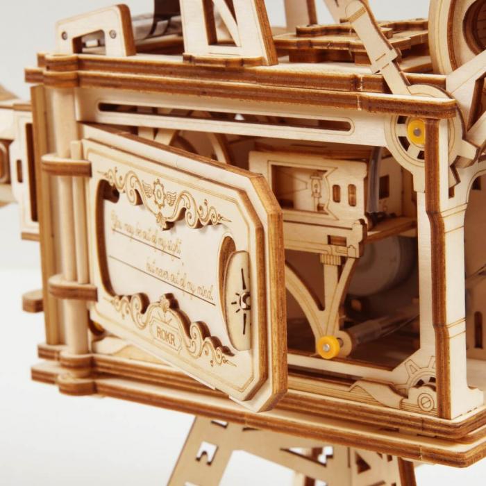 Puzzle 3D Vitascope, Lemn, 183 piese 2