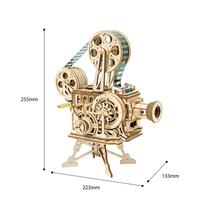Puzzle 3D Vitascope, Lemn, 183 piese 6
