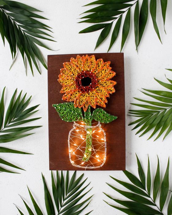 Set Art -string, Floarea soarelui 1