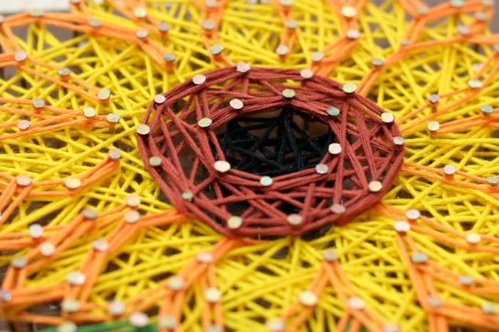 Set Art -string, Floarea soarelui 2