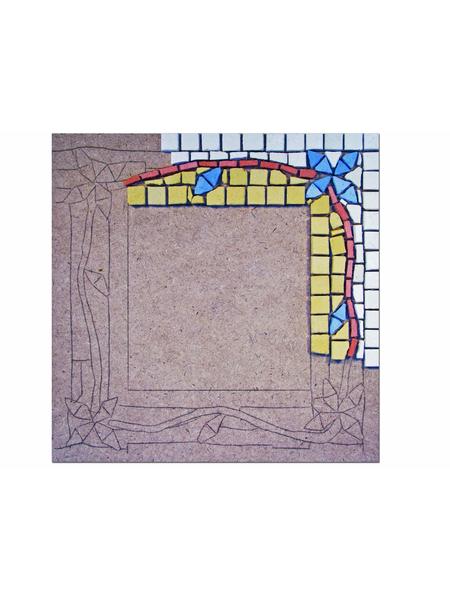 Oglinda decorativa, mozaic bizantin [2]