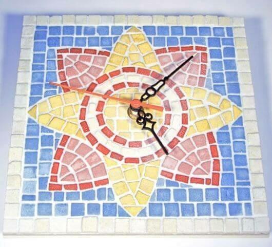 Ceas, mozaic bizantin [2]