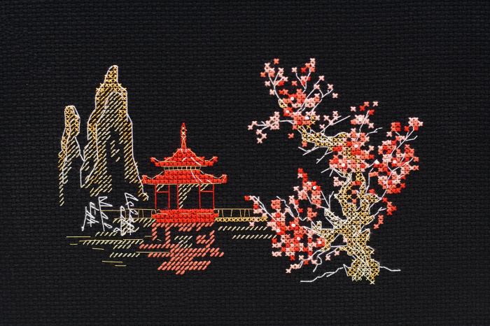 Set goblen cross-stich, Japonia [0]