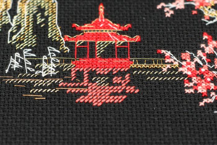 Set goblen cross-stich, Japonia [3]