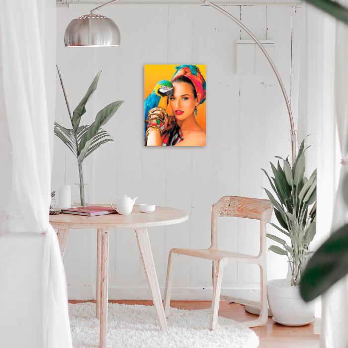 Goblen cu Diamante, cu sasiu, Culori tropicale, 40x50 cm [1]