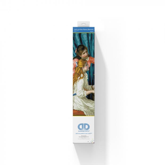 Goblen cu diamante, Fete la pian - Renoir, 66x48 cm [2]