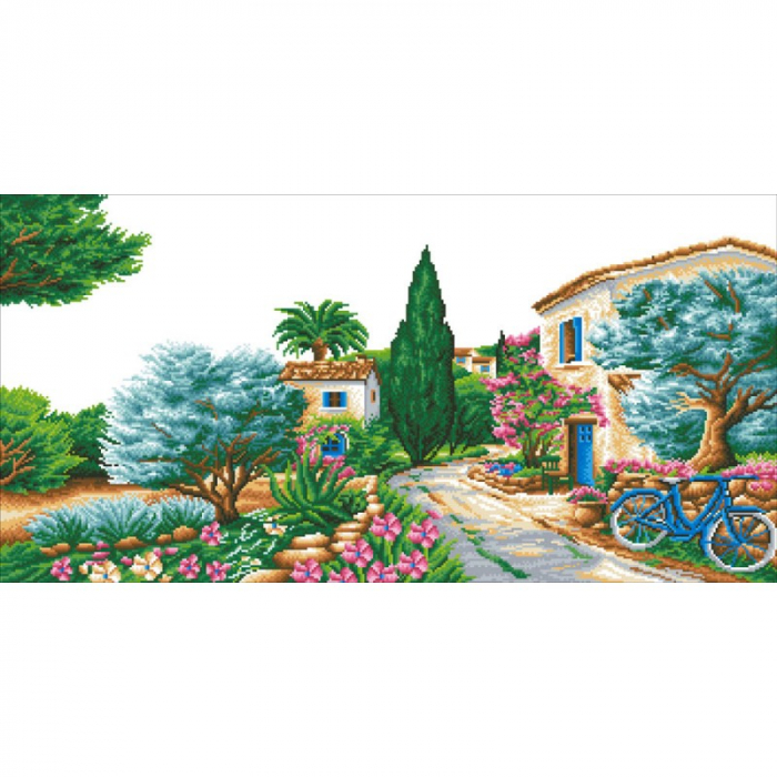 Goblen cu diamante, La Provence, 50x100 cm [11]