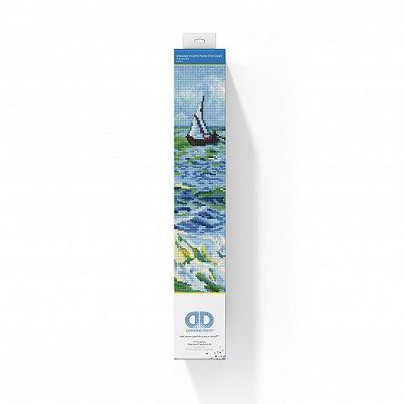 Goblen cu diamante,  Peisaj marin - Van Gogh 45x55 cm [1]