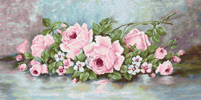 Set goblen, Trandafiri, 30x15 cm [0]