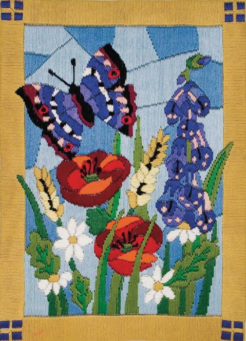 Set broderie, Fluture [0]