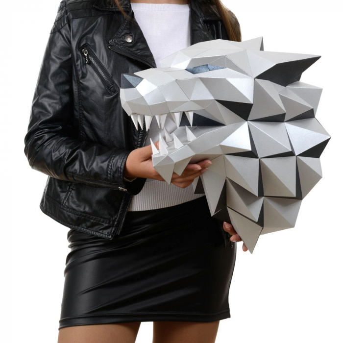 Set origami 3D, Lup 4