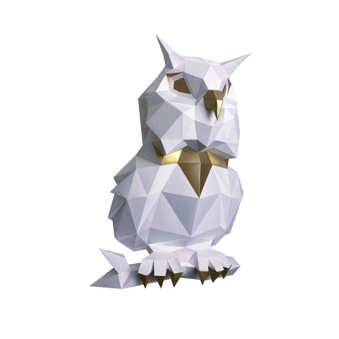 Set origami 3D, Bufnita 1