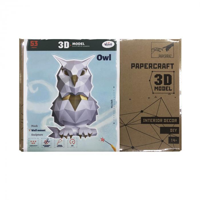 Set origami 3D, Bufnita 2