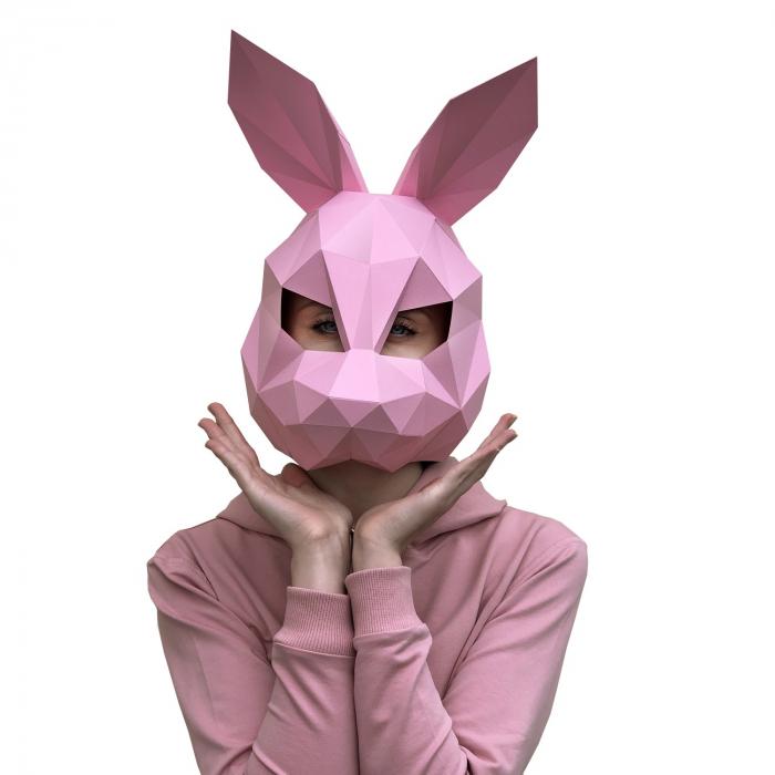Set origami 3D, Masca Roz 0