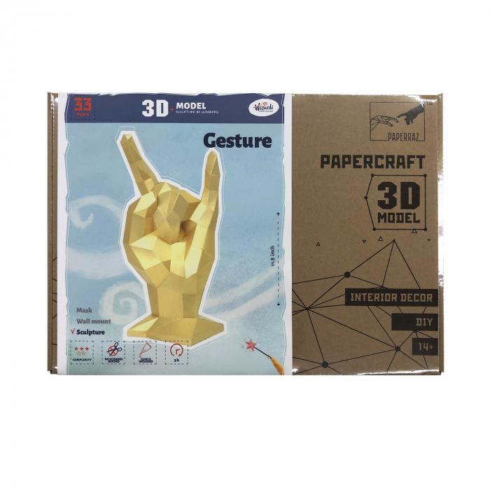 Set origami 3D, Rock 3