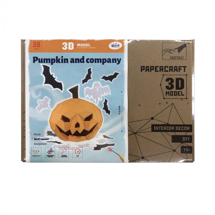Set origami 3D, Halloween 4