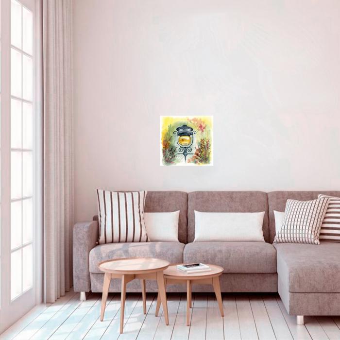 Pictura pe numere, cu sasiu, Atmosfera, 40x50 cm 1
