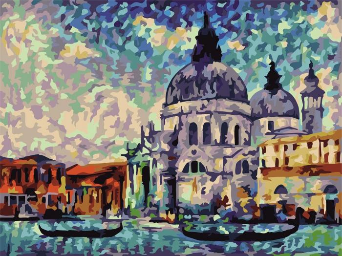 Set pictura pe numere Culorile Venetiei [0]