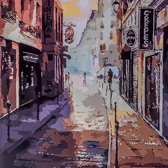 Set pictura pe numere  Luminile Orasului [0]