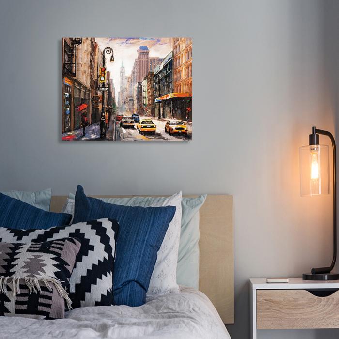 Set pictura pe numere, cu sasiu, New York City, 40 x50 cm [5]