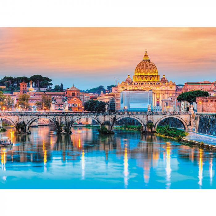 Set pictura pe numere, cu sasiu, Podul Sant'Angelo [0]