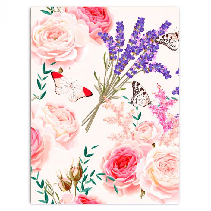 Set pictura pe numere, cu sasiu, Spring Melody, 30x40 cm 1