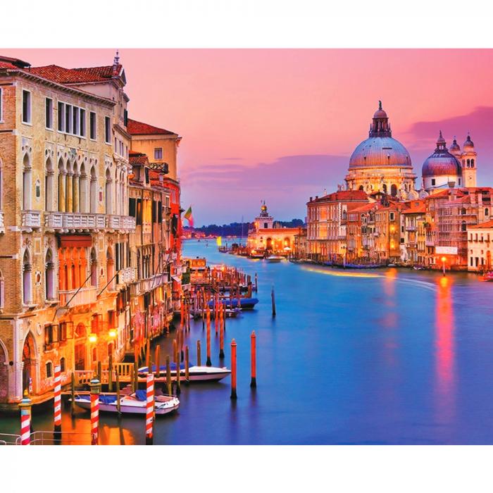 Set pictura pe numere, cu sasiu, Venetia [0]