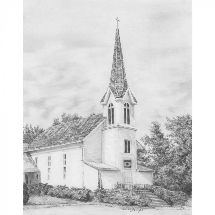 Set schita grafica, Biserica 0