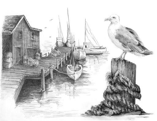 Set schita grafica, Digul pescarilor [0]