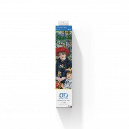 Goblen cu diamante, Doua surori pe terasa - Renoir, 42x52 cm [2]