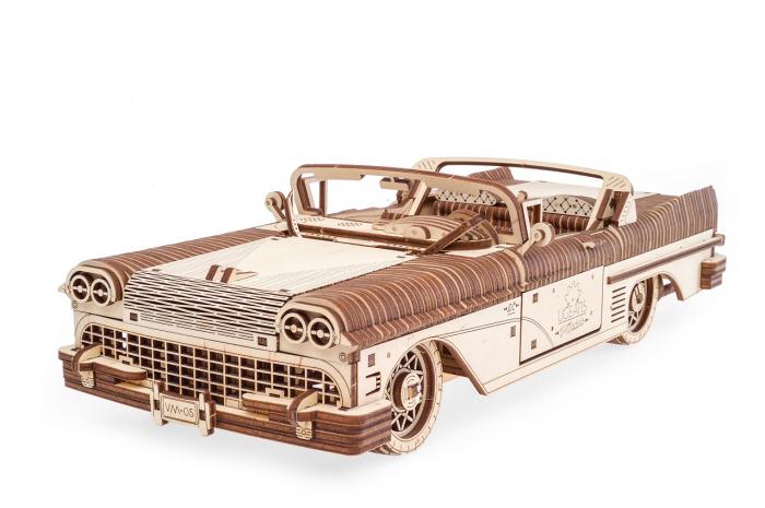 Puzzle 3D Mecanic, Dream Cabriolet, 739 piese [0]
