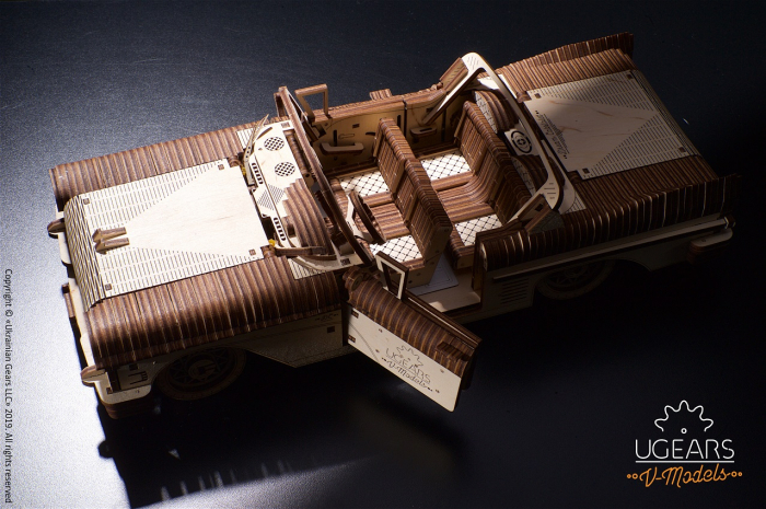 Puzzle 3D Mecanic, Dream Cabriolet, 739 piese [8]